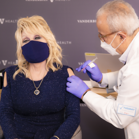 Dolly Parton Rewrites 'Jolene' and Receives COVID-19 Vaccine