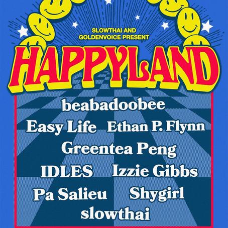 """slowthai to Launch UK Festival """"Happyland"""""""