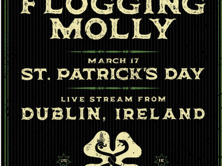 Flogging Molly to Play Virtual St. Patrick's Day Concert