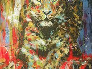 Amur Leopard -SOLD