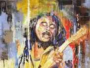 Bob Marley & Guitar