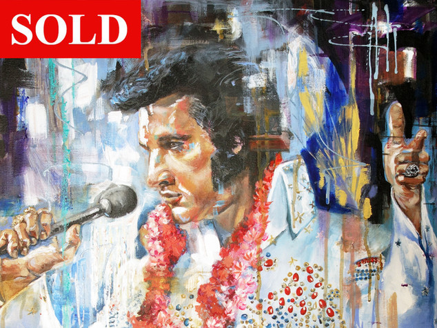 Elvis - SOLD