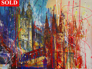 Canterbury Cathedral -SOLD