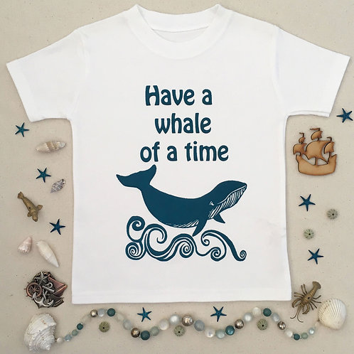 Whale Toddler T-shirt