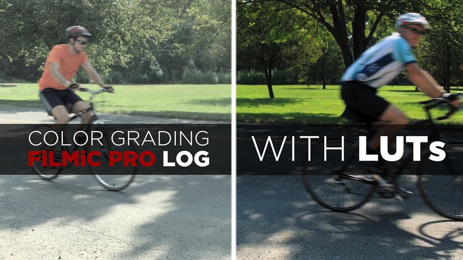 Color Grading FiLMiC Pro Log with LUTs
