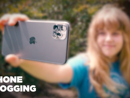 Vlogging with an iPhone