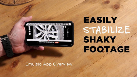 Stabilize Shaky Footage