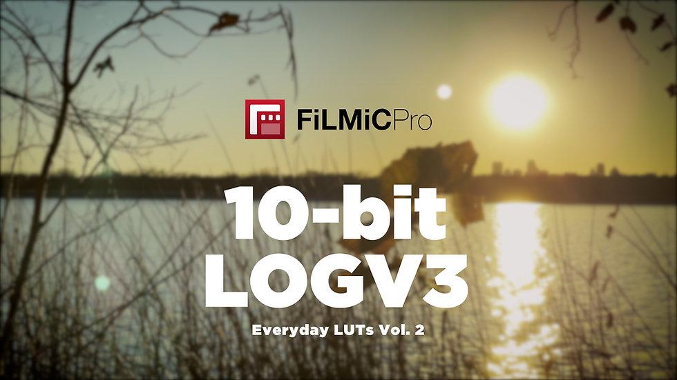 Everyday LUTs Vol. 2  • FiLMiC Pro LogV3