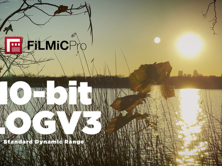 FiLMiC Pro 10-bit LOGV3 Has Arrived!