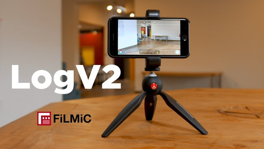 What is FiLMiC Pro LogV2?