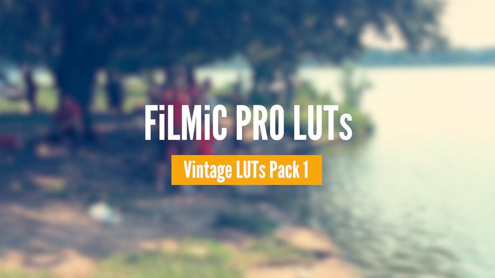 Vintage LUTs Pack • Volume 1