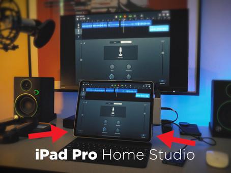 iPad Pro Home Studio