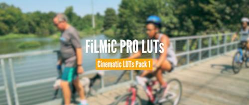Cinematic LUTs Pack • Volume 1