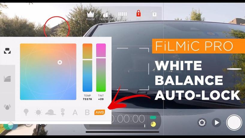 FiLMiC Pro WB Auto-Lock
