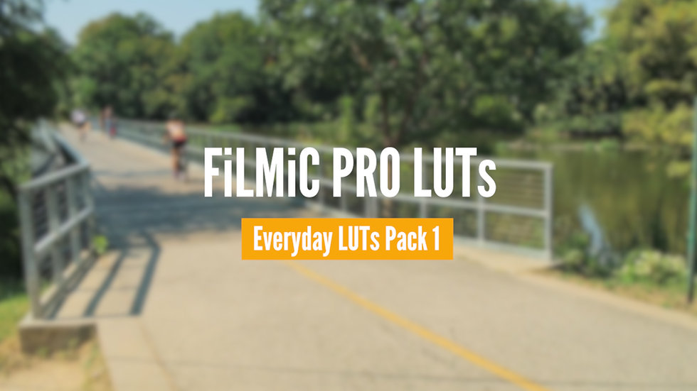 Everyday LUTs Pack • Volume 1