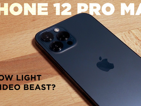 New Video Features of the iPhone 12 Pro Max