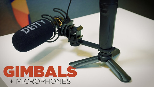 How to attached a mic to a gimbal