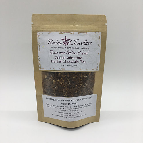 Rise and Shine Herbal Chocolate Coffee Substitute Sampler