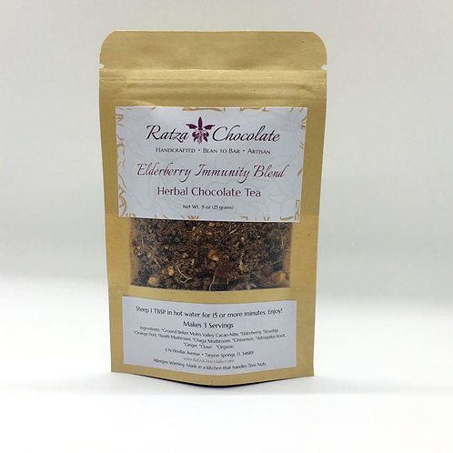Elderberry Immunity Blend Herbal Chocolate Tea Sampler