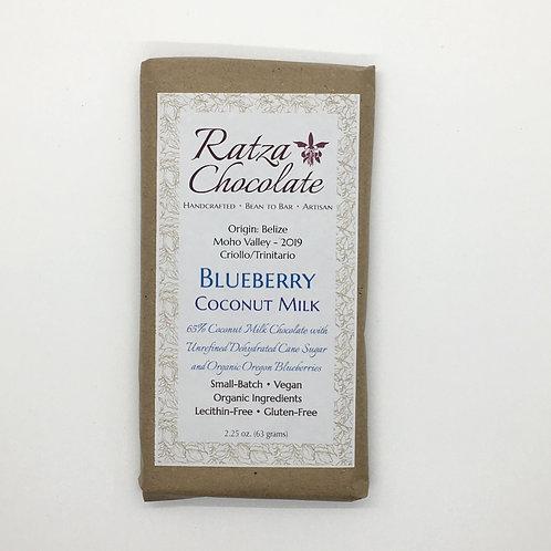 Blueberry Coconut Milk