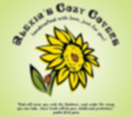 Alexia's Cozy Covers Sunflower Logo