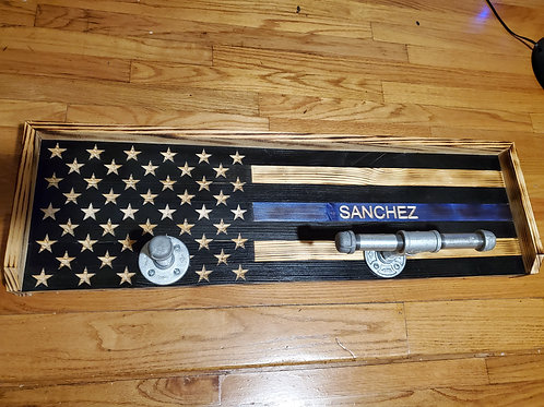 American Flag Support PD Gear Holder