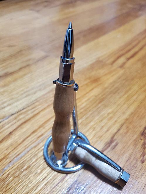 Vortex Supreme Roller Ball Maple Pen