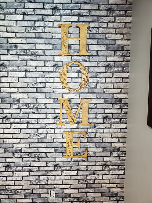 HOME Sign | Wood Sign | Letters Sign