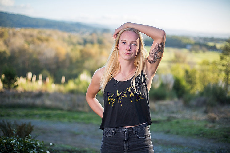 Women's All About The Love Flowy Boxy Tank