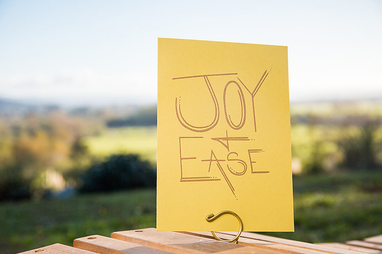 Joy & Ease Greeting Card