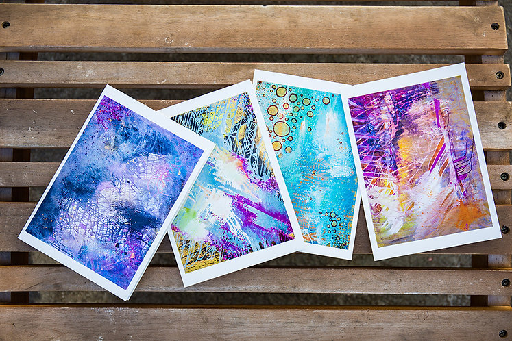 Fine Art Cards Set of 4