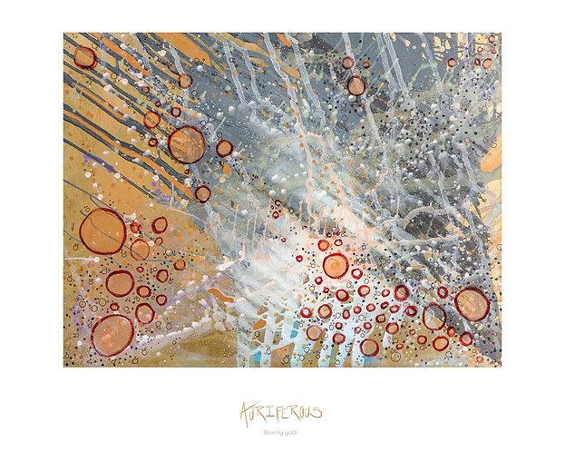 Auriferous Print