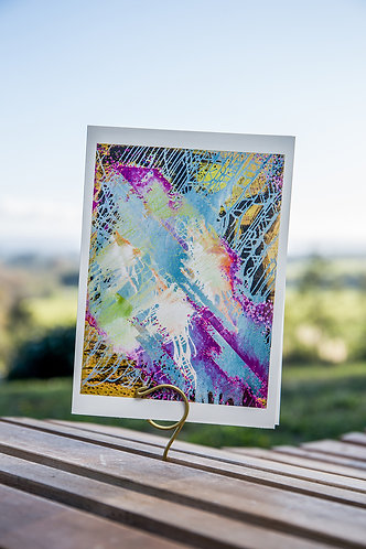 Asethesiogenic Art Card