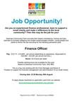Finance Officer Job!