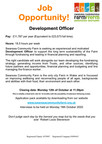 Job Opportunity Development Worker