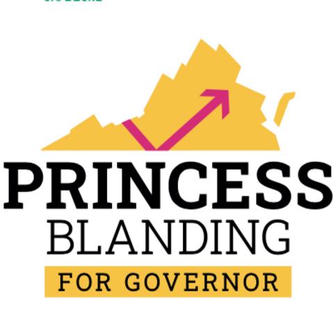 Stickers- Princess Blanding For Governor