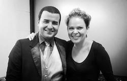 Con la musicóloga Susan Campos