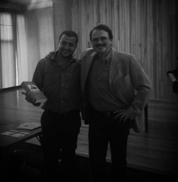 Con Luca Chiantore