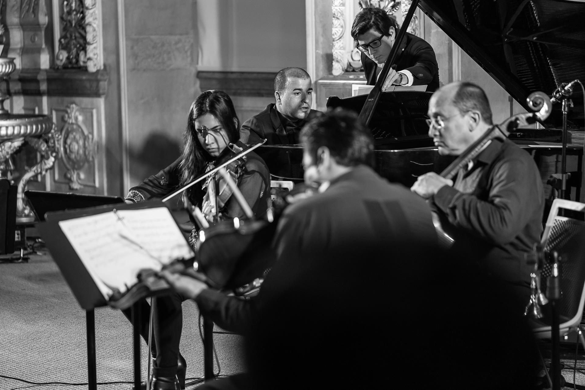 Leonardo Gell y el Cuarteto White