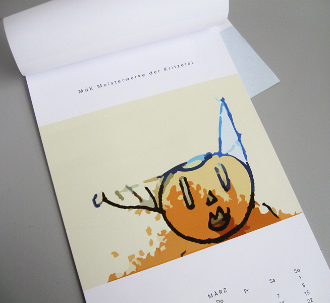 Illustration Kunstkalender