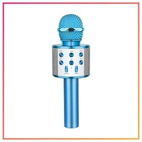 Let's Go! Wireless Bluetooth Karaoke Microphone