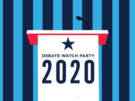 Watch the Debate with Us!