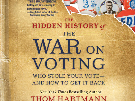Exciting News! Thom Hartmann Joining Book Club Discussion