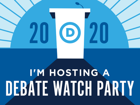 Come Watch the Debate with Dems!