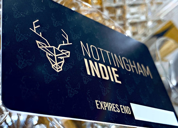 Nottingham Indie Card