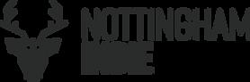 Nottingham Indie Landscape Logo Grey Tra