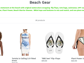Erica's 2021 Beach Gear Collection is Launched!