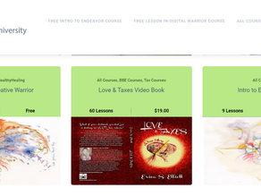 Read-Along Video Book of Love & Taxes Launched!