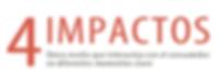 4 impactos