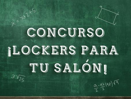Concurso ¡Lockers para tu salón!